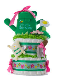 lil baby shower lil garden cake for