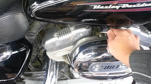 sportster manual idle control youtube