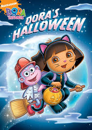amazon halloween amazon com dora the explorer dora u0027s halloween dora the explorer