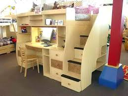 Bunk Bed Desk Cool Bunk Beds With Desk Gorgeous Inspiration Desk Bed