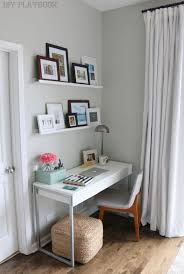 Unique Desks For Small Spaces Best 25 Small Desk Space Ideas On Pinterest Small Office Desk