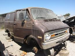 dodge van junkyard find 1972 dodge tradesman custom van the truth about cars