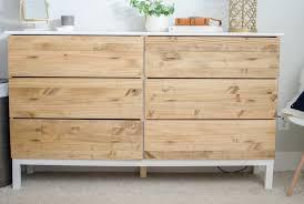 Ikea Bedroom Dresser Diy Bedroom Dresser Ikea Tarva Dresser Hack Ikea Tarva 6 Drawer
