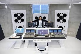 Recording Studio Desk Design by Indian Music Director And Film Composer Harris Jayaraj U0027s New