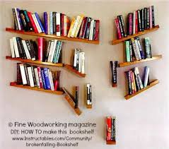 Woodworking Bookshelves Plans by Falling Bookshelves Fine Woodworking Magazine Diy How To Make