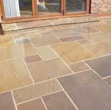 Patio Slab Patterns Kandla Grey Indian Sandstone Paving Natural Stone Patio Flags