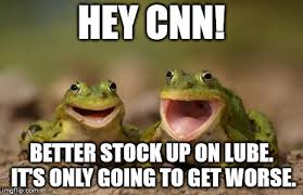 Lube Up Meme - two happy frogs imgflip