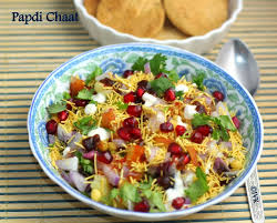 indian chaat cuisine indianvegkitchen papdi chaat with baked papdi indian food