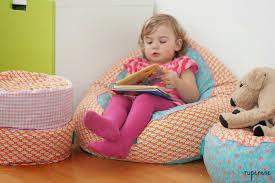 sitzsack für kinderzimmer rupenene bean bag