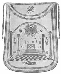 black and white checkered floor masonic meaning grid green leaf masonic apron