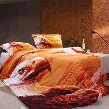 eagle print animal theme 100 cotton bedding sets bedding u0026 bed
