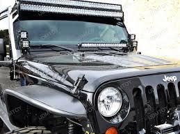 led light bar jeep wrangler 2pcs 50 480w high power led light bars for jeep wrangler jk
