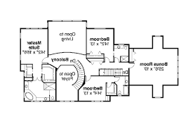 colonial house plan roxbury 30 187 flr2 floor two story