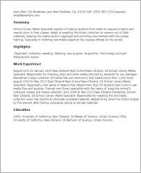 Library Resume How To Make A Production Assistant Resume Adjunct English