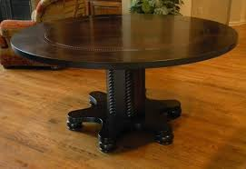Antique Round Dining Table And Chairs Home And Furniture Dark Brown Color Expandable Round Dining Table With Wooden Base