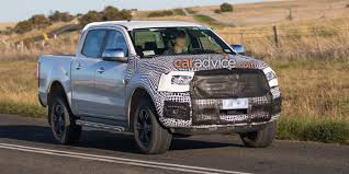 ford ranger ford ranger and everest spied testing aeb and new tech coming