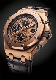 audemars piguet royal oak offshore chronograph watch in pink