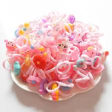 baby plastic rings images Mix 30 pcs lot little boy girl children rings flower kids gal baby jpg