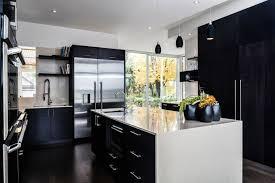 cuisine frigo cuisine bois noir stunning cuisine dessin cuisine bois noir mat as