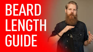 how to measure your beard length how long should you grow your beard eric bandholz youtube