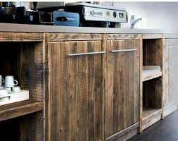 cuisine en palette bois bois brut en cuisine moody s home