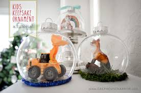 keepsake ornament diy project nursery