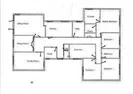 Floor Plan 4 Bedroom Bungalow Fantastic 54 4 Bedroom House Plans Nigeria Bedroom Floor Plans 5