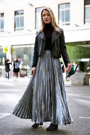 50 ways to style a pleated skirt u2013 closetful of clothes