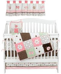 Brown And Pink Crib Bedding Nojo Ladybug Lullaby 6 Crib Set Discontinued