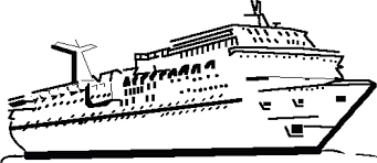 ship clipart outline pencil and in color ship clipart outline