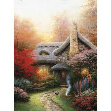 make a wish cottage limited edition the kinkade company