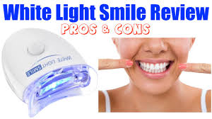 brightwhite smile teeth whitening light white light smile review pros cons youtube