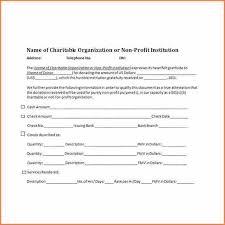 9 charitable donation receipt template return receipt form