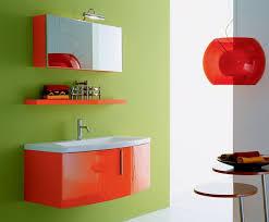 modern menards bath vanity cabinets come with orange varnished