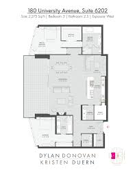 cn tower floor plan 180 university ave suite 6202 sold by dylan donovan