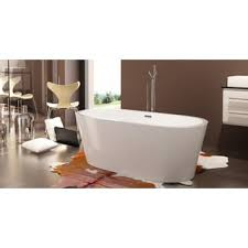 Oval Bathtub Retro All In One Free Standing Tub Combo Free Shipping Today
