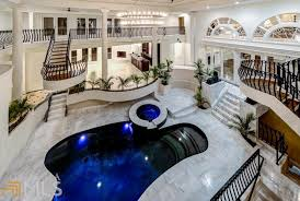 2 story house with pool 2 9 million mansion in atlanta ga with 2 story indoor swimming