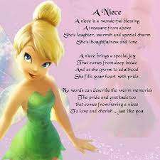 wedding wishes niece personalised coaster niece poem tinkerbell design free gift