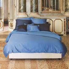 bed linen bassetti uni 135 x 200 40 x 80 cm 1343 oltremare