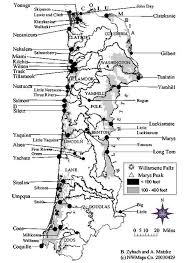 map of the oregon coast great fires chapter 1