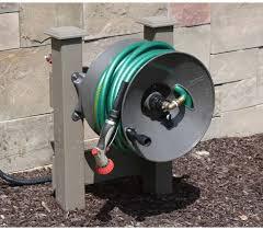 best retractable garden hose reel wall mount hose reel for garden