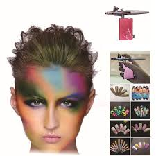 Face Paint Spray - new style rechargeable airbrush henna temporary tattoo kits 0 2mm