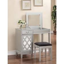 linon home decor vanity set with butterfly bench black table inspiring diy makeup vanity hollywood mirror with lights