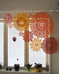 Crochet Curtain Designs Why It U0027s Stylish To Dress Up Windows With Crochet Curtains