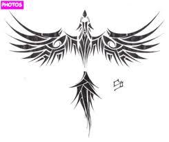 tribal phoenix tattoo tattoos pinterest tribal phoenix