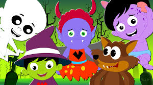 halloween wallpapers for kids five little monsters halloween nursery rhymes and kids songs kids