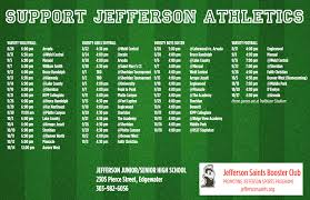 fall sports jefferson saints