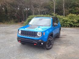 jeep renegade light blue test drive 2015 jeep renegade trailhawk