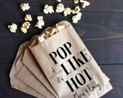 popcorn favor bags engagement party favor bags popcorn buffet candy table