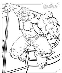 superhero coloring pages hulk avengers lego hulkbuster free
